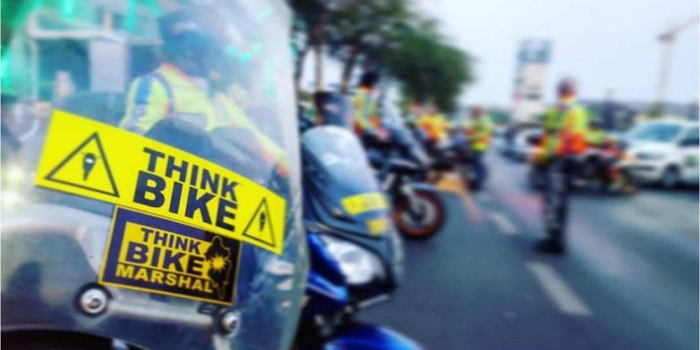 think bike marshals